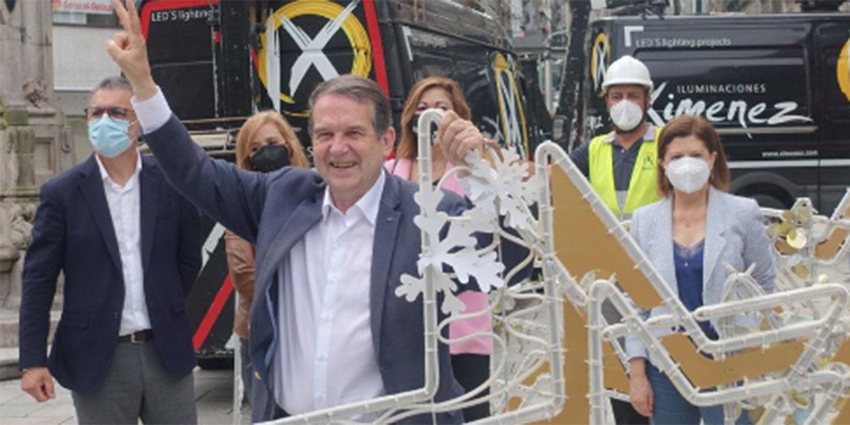 Abel Caballero arranca su loca Navidad en Vigo pero nunca tan deplorable como lo hizo en 2018