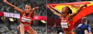 La excelsa competitividad de Ana Peleteiro la lleva volando hasta el bronce en la séptima medalla de España