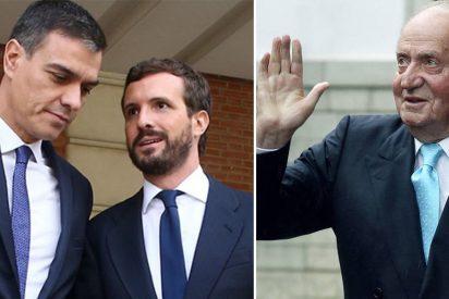 Encuestas: el PP ganaría hoy las elecciones y tres de cada cuatro españoles defienden al rey emérito
