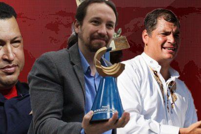Pablo Iglesias presume del 'galardón de los dictadores', el premio peronista que ostentan Maduro, Chávez y Correa