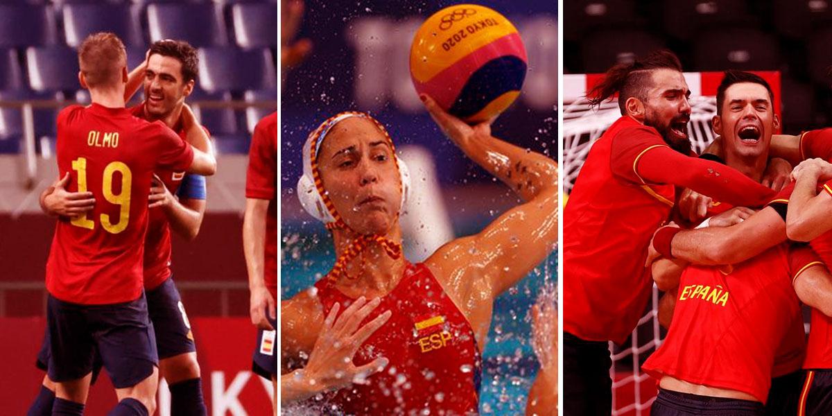 España acelera en los últimos coletazos de los Juegos Olímpicos logrando un carro de medallas
