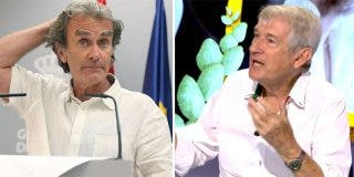 """'Rescate' y 'apaleo' a Fernando Simón: """"No es más tonto porque no entrena, es un impresentable"""""""