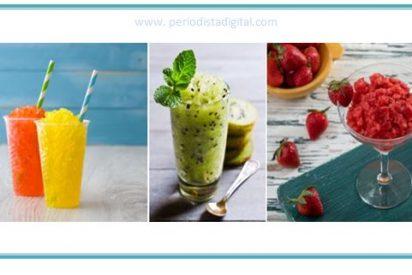 Cómo hacer granizados de fruta fácilmente