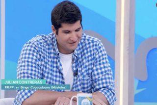"""Julián Contreras se desahoga tras durar tres días como nuevo fichaje de TVE: """"Soy un bufón de la tele"""""""