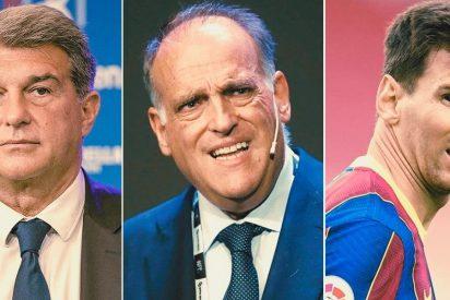¡Qué bochorno! Los independentistas culpan a España y a La Liga de la huida de Messi...