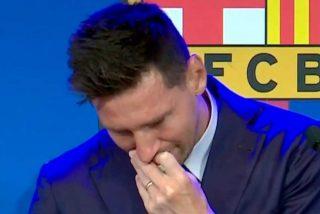 Messi, uno de los últimos genios del fútbol mundial, se despide llorando del Barcelona FC