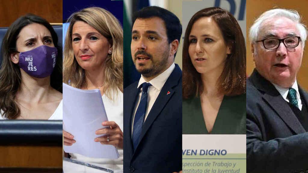 Los ministros de Podemos alargan sus vacaciones para no hablar del precio de la luz