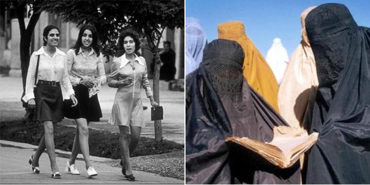 Crujen a 'El País' por afirmar que las imágenes de universitarias en minifalda en Kabul promueve la islamofobia