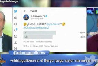 Sentenciado: la audiencia de su propio programa opina que Josep Pedrerol debe dimitir por sus 'pifias'