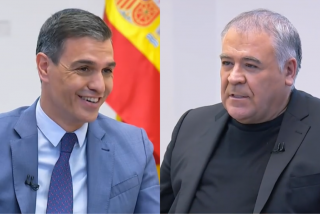 Un aterrador tuit para García Ferreras 'destapa' la manipulación de laSexta para cubrir a Pedro Sánchez