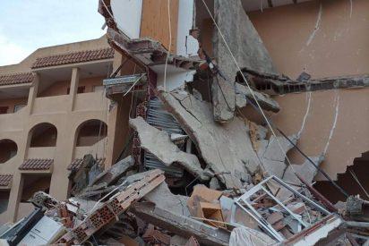 """El edificio que colapsó en Peñíscola: """"Cayó como si fuera un dominó"""""""