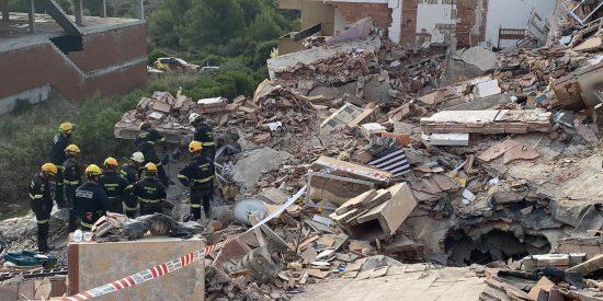 Encuentran el cadáver sepultado de la mujer desaparecida en el derrumbe de Peñíscola
