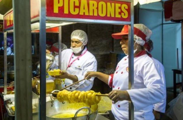 Receta de picarones del Perú