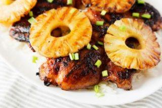 Pollo Huli Huli de Hawái