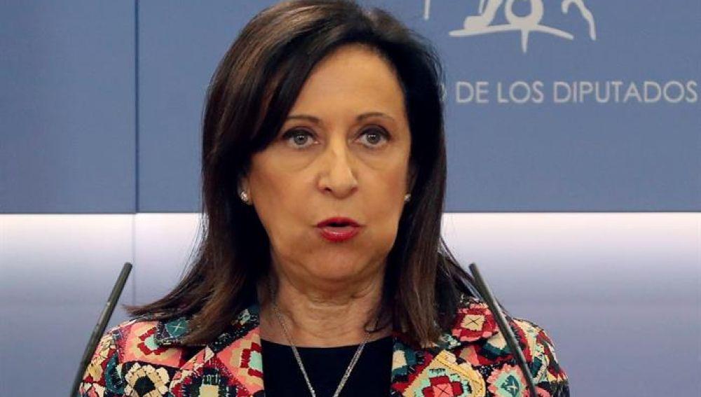 Nuevo escándalo: implican y denuncian a Margarita Robles por una trama de extorsión