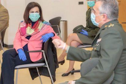 """Un Teniente coronel a Margarita Robles: """"es usted una sinvergüenza y acabará entre rejas"""