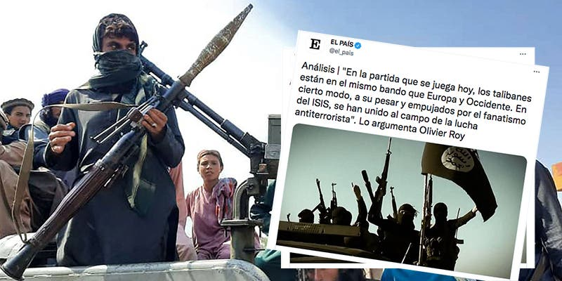 """Vapulean a 'El País' por su nuevo elogio a los talibanes: """"Están en el mismo bando que Europa y Occidente"""""""