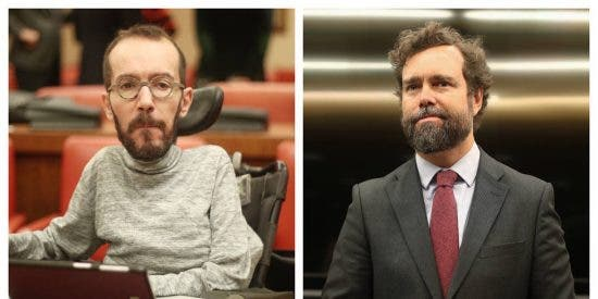 Espinosa de los Monteros le monta un 'pollo' al podemita Echenique por insultar a un periodista