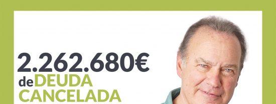 Repara tu Deuda Abogados cancela 2.262.680 € en Barcelona (Cataluña) con la Ley de la Segunda Oportunidad
