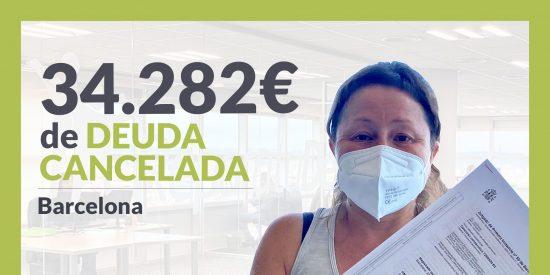 Repara tu Deuda Abogados cancela 34.282€ en Barcelona (Cataluña) con la Ley de Segunda Oportunidad