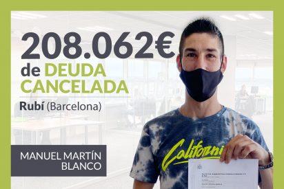 Repara tu Deuda Abogados cancela 208.062€ en Rubí (Barcelona) con la Ley de Segunda Oportunidad