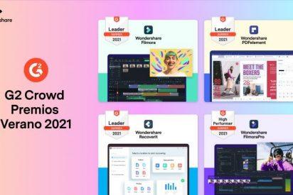 Wondershare es nombrada Líder y de Alto Rendimiento en los Premios G2 Crowd Verano de 2021