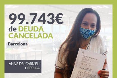 Repara tu Deuda Abogados cancela 99.743 € en Barcelona (Catalunya) con la Ley de Segunda Oportunidad