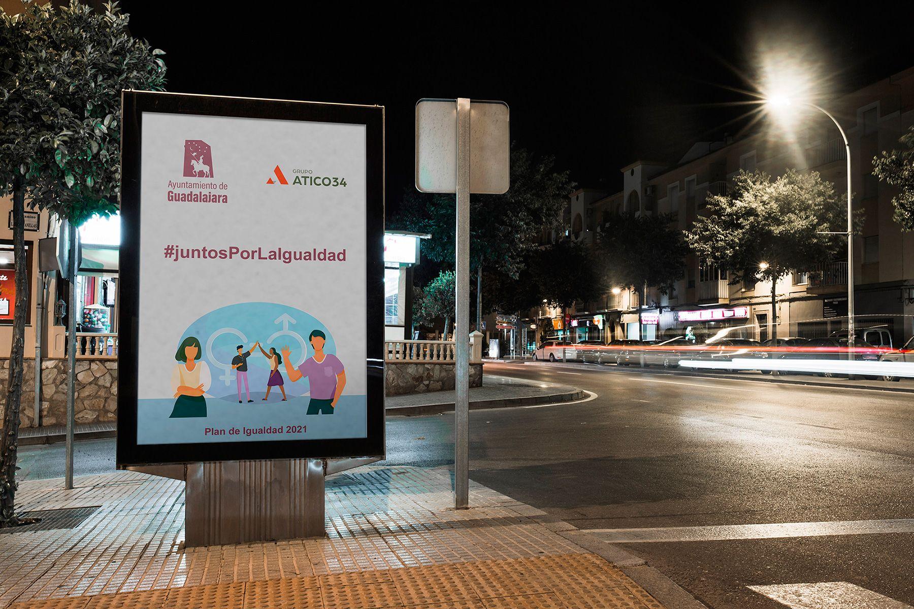 Grupo Atico34 diseña un Plan de Igualdad con medidas pioneras para el Ayuntamiento de Guadalajara