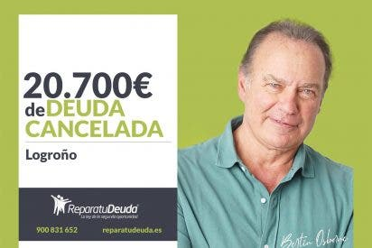 Repara tu Deuda Abogados cancela 20.700€ en Logroño (La Rioja) con la Ley de la Segunda Oportunidad