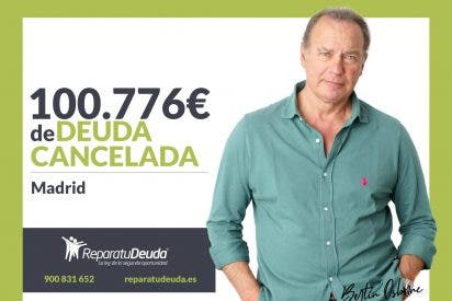 Repara tu Deuda Abogados cancela 100.776€ a un matrimonio de Madrid con la Ley de Segunda Oportunidad