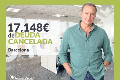 Repara tu Deuda Abogados cancela 17.148€ en Barcelona (Catalunya) con la Ley de la Segunda Oportunidad
