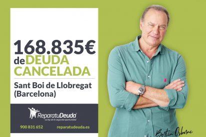 Repara tu Deuda cancela 168.835€ en Sant Boi de Llobregat (Barcelona) con la Ley de Segunda Oportunidad