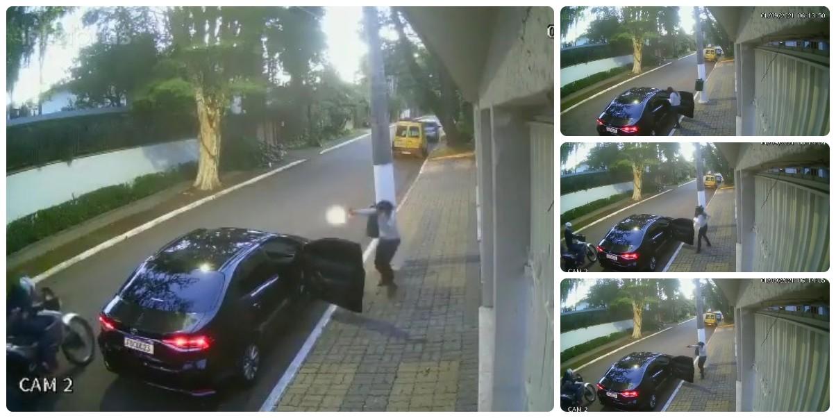 El maleante despistado intenta atracar el coche de los guardaespaldas del alcalde de Sao Paulo y lo cosen a tiros