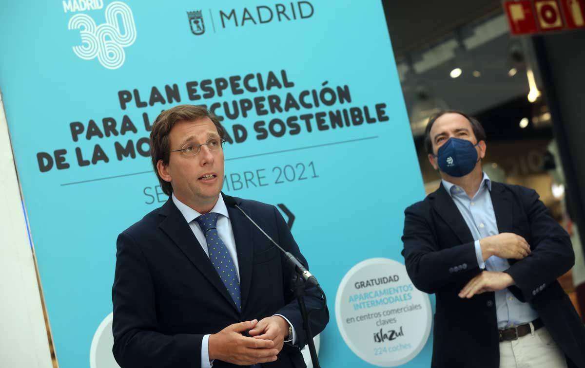 Madrid: Almeida inaugura el bus lanzadera que conecta plaza Elíptica con el nuevo intermodal de Islazul