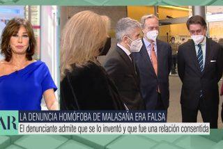 """Ana Rosa 'desnuda' a Marlaska por alimentar el bulo de Malasaña: """"No se molestó en informarse o lo ocultó, ambas muy graves"""""""