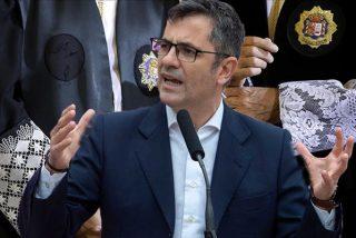"""El PSOE, obsesionado con controlar el CGPJ: Un """"totalitario"""" Bolaños rechaza que """"los jueces elijan a jueces"""""""