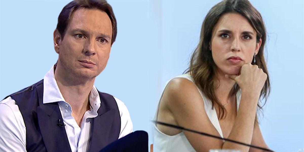 """Fastuoso golpe de Cárdenas a la ministra del 'coño como una mesa de grande': """"¡Solo gilipolleces!"""""""