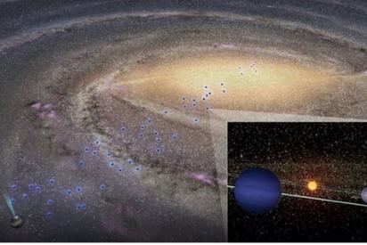 Descubren planetas fríos dentro del bulbo central de la Vía Láctea