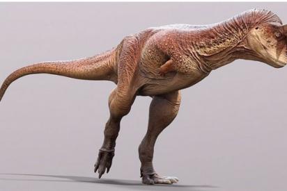 Un fósil de piel permite conocer el verdadero aspecto del dinosaurio ''toro carnívoro'