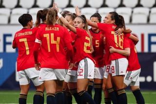 España arrasa a Islas Feroe y avanza con fuerza al Mundial 2023