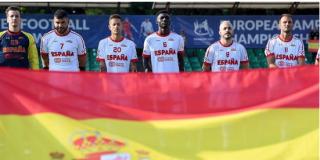 España, subcampeona del Europeo de fútbol para amputados