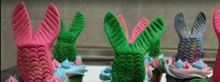 Receta: cupcakes de sirena