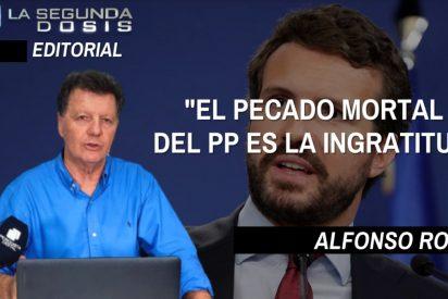 """Alfonso Rojo: """"El pecado mortal del PP es la ingratitud"""""""