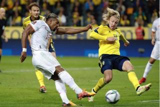 España, con un pie fuera del Mundial de Catar 2022 tras perder con Suecia
