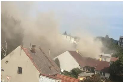 Terrible explosión de gas en República Checa: Dos bomberos muertos y cuatro heridos