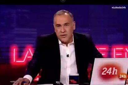 El socialista Fortes saca a paseo su rabia por el meneo que le propinó Espinosa de los Monteros en TVE