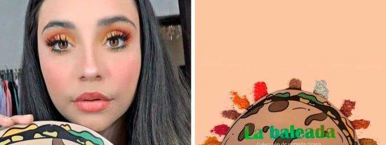 "Hondureña crea nueva ""paleta de sombras"" inspirada en la ""baleada"""