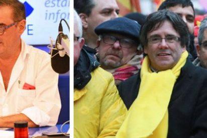 """Carlos Herrera: """"No va a ser sencillo ver sentado a Puigdemont en el banquillo"""""""