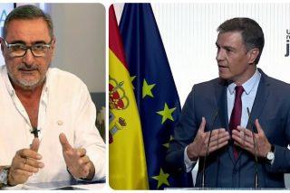"""Carlos Herrera pone a escurrir a los empresarios que acudieron al 'Aló Presidente' de Sánchez: """"Son una pandilla de pelotas"""""""