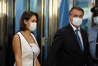 La íntima petición del alcalde de Nueva York a la esposa de Jair Bolsonaro